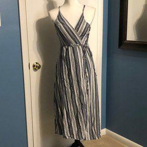 CJLA Striped Wrap Dress